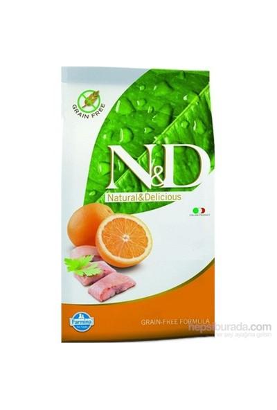 Farmina N&D Balıklı Portakallı Doğal Kedi Maması 1,5 Kg