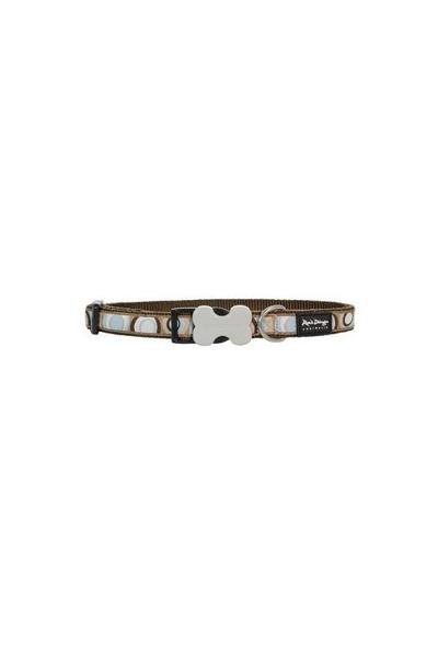 Reddingo Circadelic Desenli Kahverengi Uzatma Köpek Tasması 12 Mm