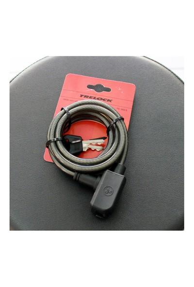 Trelock Anahtarlı Kilit Ts180-8 Siyah