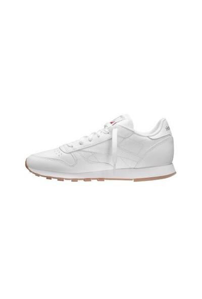 Reebok Beyaz Kadın Koşu Ayakkabısı R49803 Classic Leather