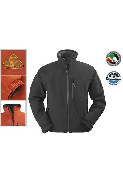 Coverguard Softshell Kayak Ceketi Siyah