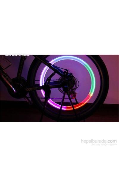 Bicycleworld İkili Çok Renkli Led Işık Hareket Sensörlü Bisiklet Motorsiklet Sibop Işığı (2'Li)
