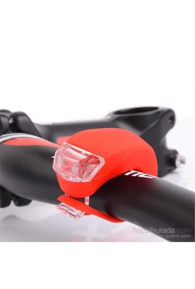 Csı 2'Li Set Silikon Bisiklet İkaz Uyarı Işığı 3 Farklı Yanma Modu