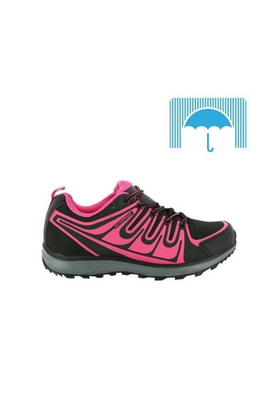 Kinetix 1251023 Rena Wf Siyah Fuşya Kadın Günlük Ayakkabı