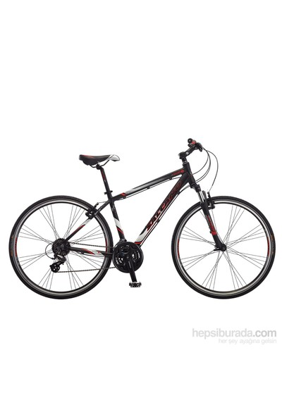 "Salcano City Sport 40 18"" V Siyah-Gri-Kırmızı Bisiklet"