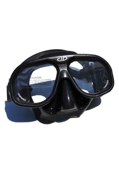 Unidive Maske Silikon Çift Camlı