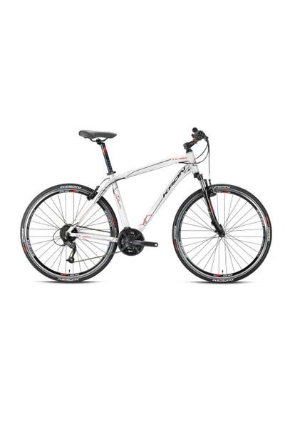 "Kron Tx 450 28 Jant City 18"" 27 Vites V-Fren Siyah - Kırmızı Şehir Bisikleti"