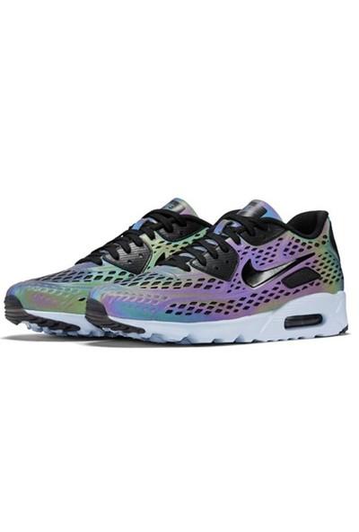 Nike Air Max 90 Ultra Moire Qs Hologram 777427-200 Erkek Yürüyüş Ve Koşu Ayakkabısı