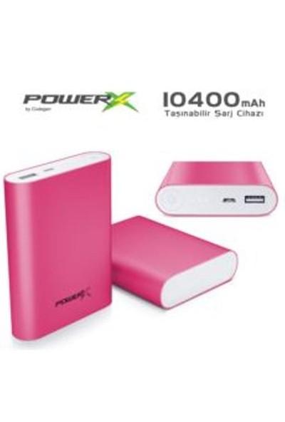 Codegen A10-P Codegen Powerx 10400 Mah Pembe Powerbank Taşınabilir Şarj Cihazı