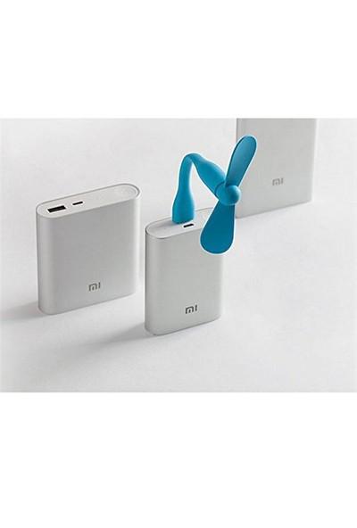 Xiaomi USB Mini Fan Mavi - Mini Vantilatör
