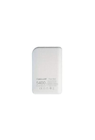 Winixco 5400 mAh Powerbank