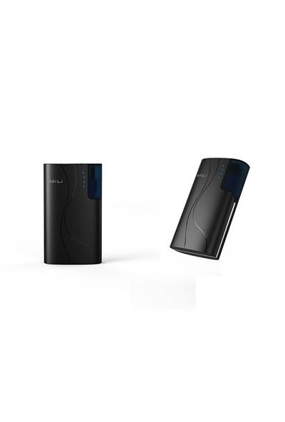Mili Power Passion II - 7800 mAh Siyah Taşınabilr Şarj Cihazı - (3 USB Çıkışlı)