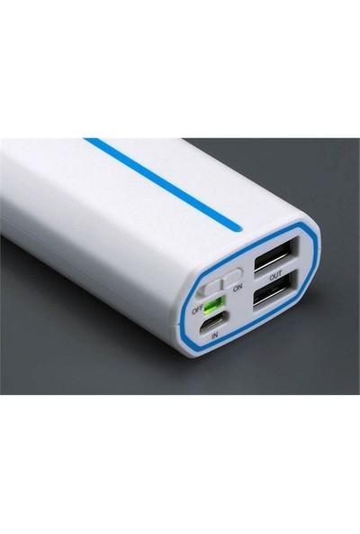 Fsp Walk1359 5200Ws 2*Usb 5200 Mah Powerbank Taşınabilir Pil Şarj Cihazı Beyaz