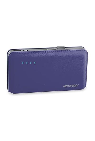 S-Link Swapp Ip-L44 12000Mah Pilli Şarj Cihazı Mavi Taşınabilir Pil Şarj Cihazı