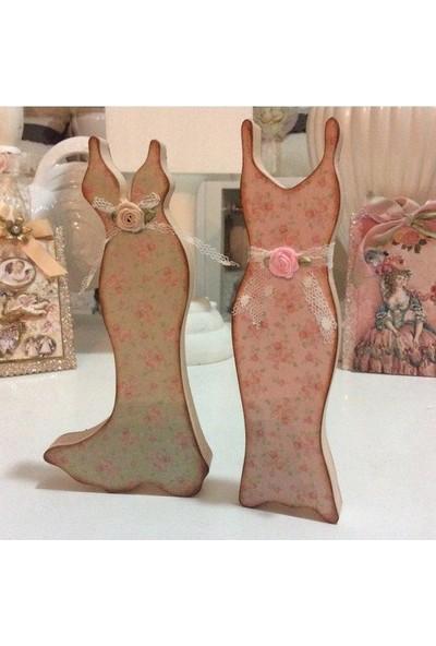 Victorian Rose Boutique Dekoratif Elbise Obje Tk.