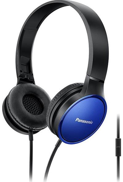 Panasonic RP-HF300E-A Mavi Kablolu Kulak Üstü Katlanabilir Stereo Kulaklık