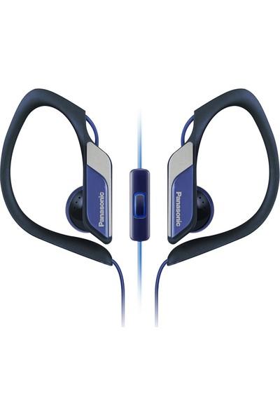 Panasonic RP-HS34ME-A Mavi Kablolu Kulak İçi Mikrofonlu Su Geçirmez Kulaklık