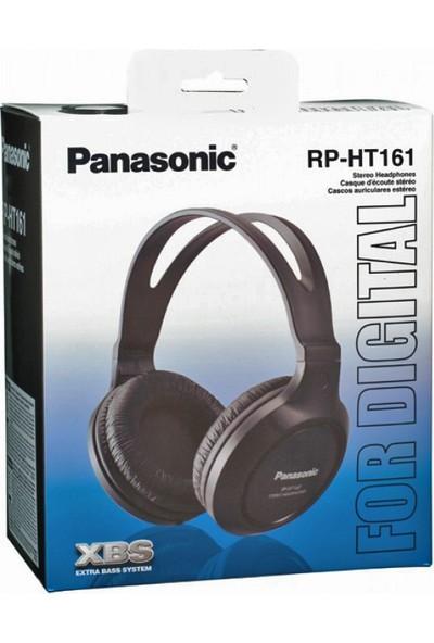 Panasonic RP-HT161E-K Siyah Kablolu Kulak Üstü Monitör Kulaklık