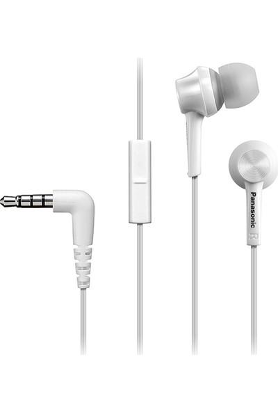 Panasonic RP-TCM105E-W Beyaz Kablolu Kulak içi Kulaklık