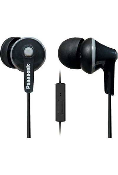 Panasonic RP-TCM125E-K Siyah Kablolu Kulak içi Mikrofonlu Kulaklık