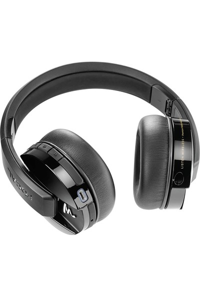 Focal Listen Siyah Wireless Bluetooth Kulak Üstü Kulaklık