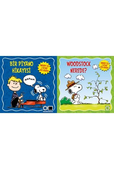 Peanuts Woodstock Nerede &Bir Piyano Hikayesi Snoopy İle 2 Kitap Bir Arada