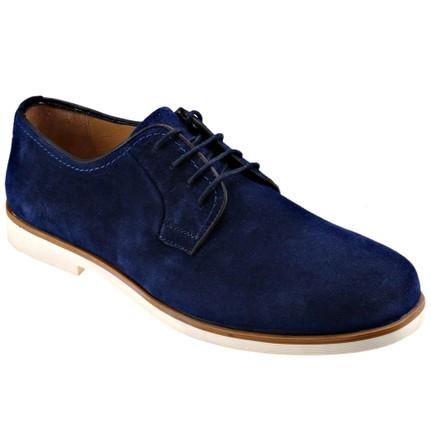 JJ-Stiller Kl-51153-1 M 1506 Mavi Erkek Deri Ayakkabı