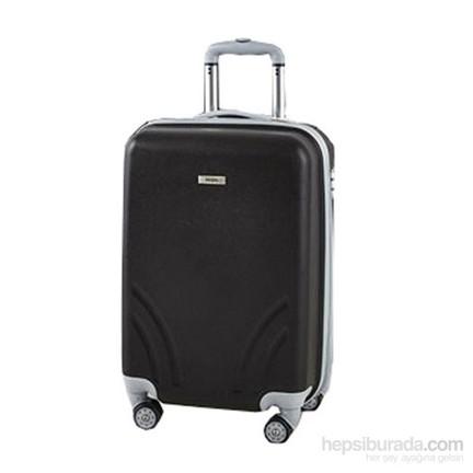 05d2921f97a8c TUTQN Kırılmaz Plastik Bavul Kabin Boy Valiz %100 PP Siyah Fiyatı