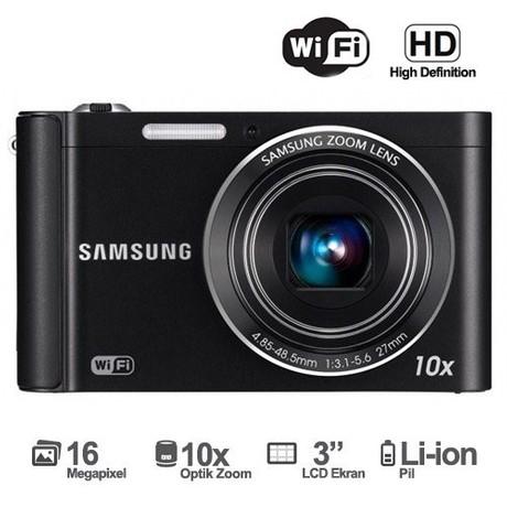 Samsung St200f 16 Mp 10x Optik Zoom 3 Lcd Dijital Fotograf Fiyati