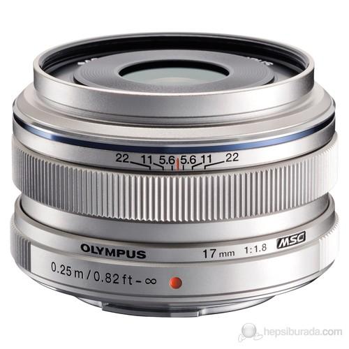 Olympus M.Zuiko Dijital 17mm 1:1.8 / EW-M1718 Gümüş