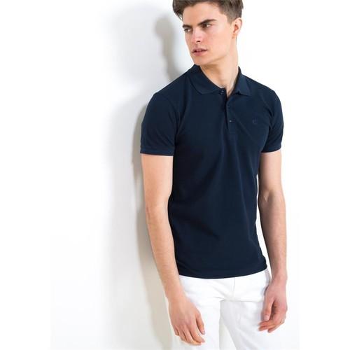 Adze Lacivert Erkek Polo Yaka Tişört