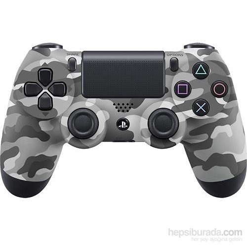 Sony Playstation 4 Dualshock Kablosuz Kumanda/Kol (Joystick) Kamuflaj