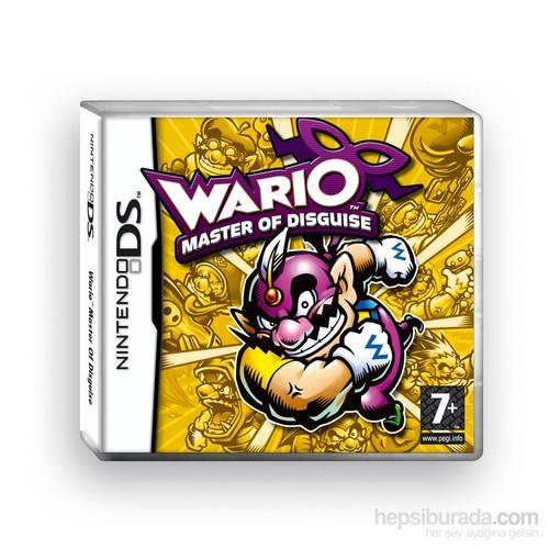 Nintendo Ds Warıo Master Of Dısguıse