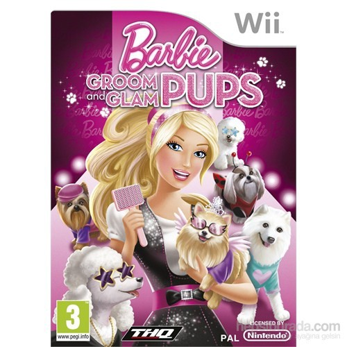 Thq Wii Barbıe Groom Glam Pups