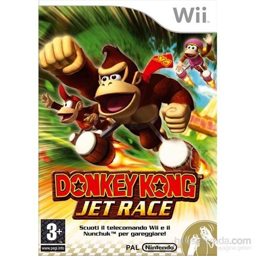Nintendo Wii Donkey Kong Jet Race