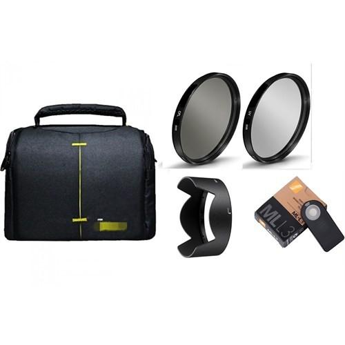 Beta Nikon 18-105Mm Lens İçin Kare Çanta Lı 5 Li Filtre Ve Aksesuar Seti
