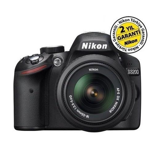 Nikon D3200 18-55mm Kit 24 MP Dijital SLR Fotoğraf Makinesi