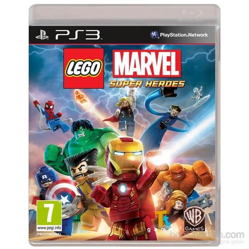 Warner Bros Lego Marvels Super Heroes Ps3
