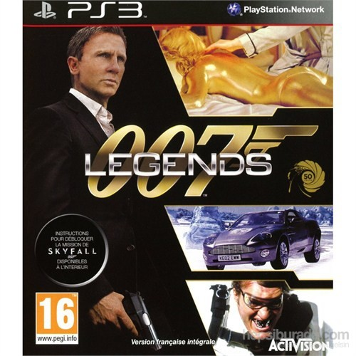 007 Legends Ps3 Oyunu