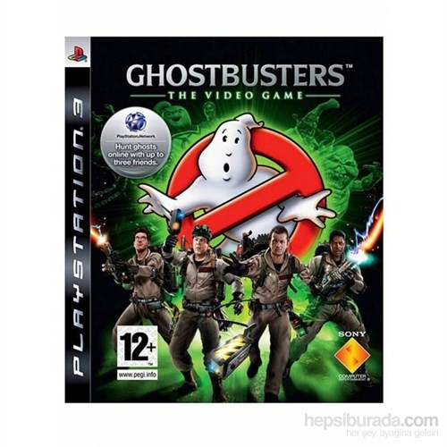 Ghostbusters The Video Game Ps3 Oyunu