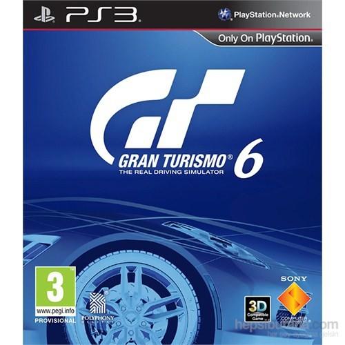 Gran Turismo 6 Ps3 Oyunu