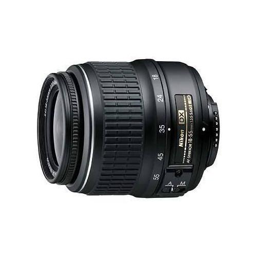 Nikon AF-S DX 18-55MM F3.5-5.6G II Black Objektif