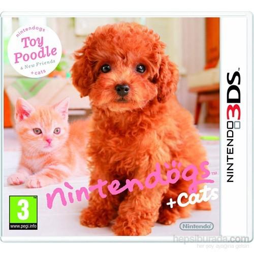 Nintendo 3Ds Nıntendogs Toy Poodle + Cats