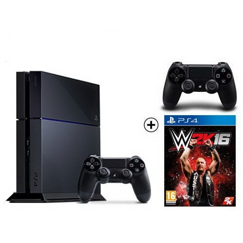 Sony Playstation 4 500Gb Oyun Konsolu + W2k16 + 2. Kol