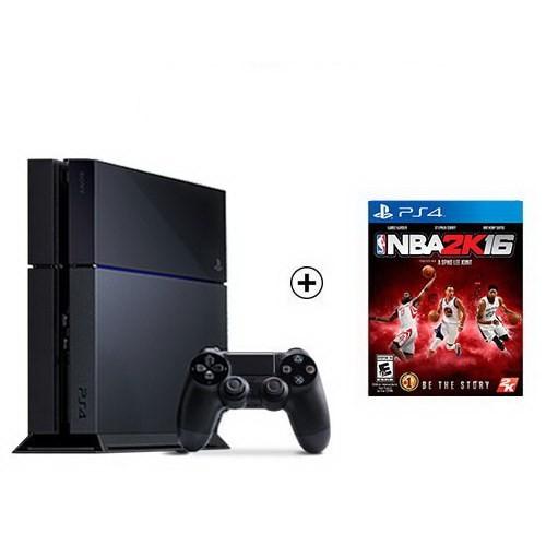 Sony Playstation 4 500Gb Oyun Konsolu + Nba 2K16 Ps4 Oyun