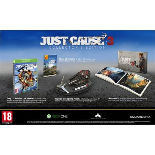 Square Enix Xbox One Just Cause 3 Collector Edt.