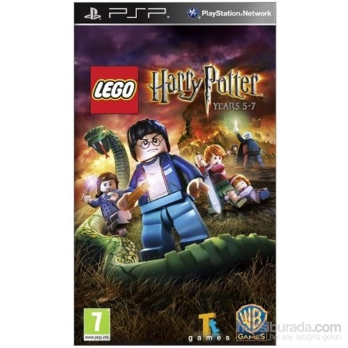 Lego Harry Potter Years 5-7 PSP