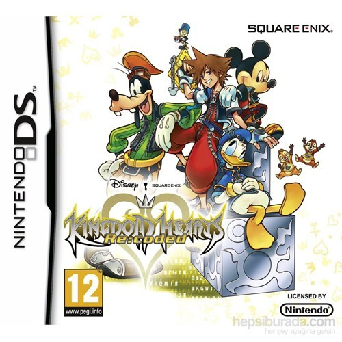 Square Enix Ds Kıngdom Hearts Recoded