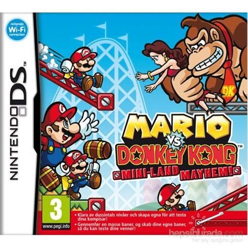 Nintendo Ds Mario Vs. Donkey Kong Mını-Land Mayhem