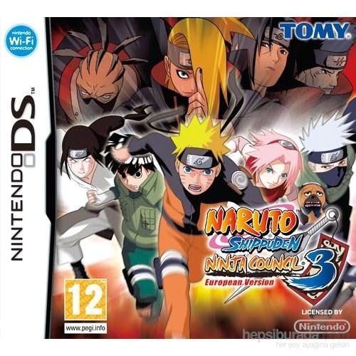 Tomy Ds Naruto Shıppuden Nınja Councıl 3